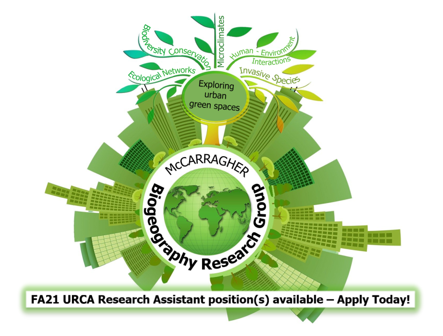CHECK IT OUT: Now Accepting Fall 2021 URCA Research AssistantApplicants!